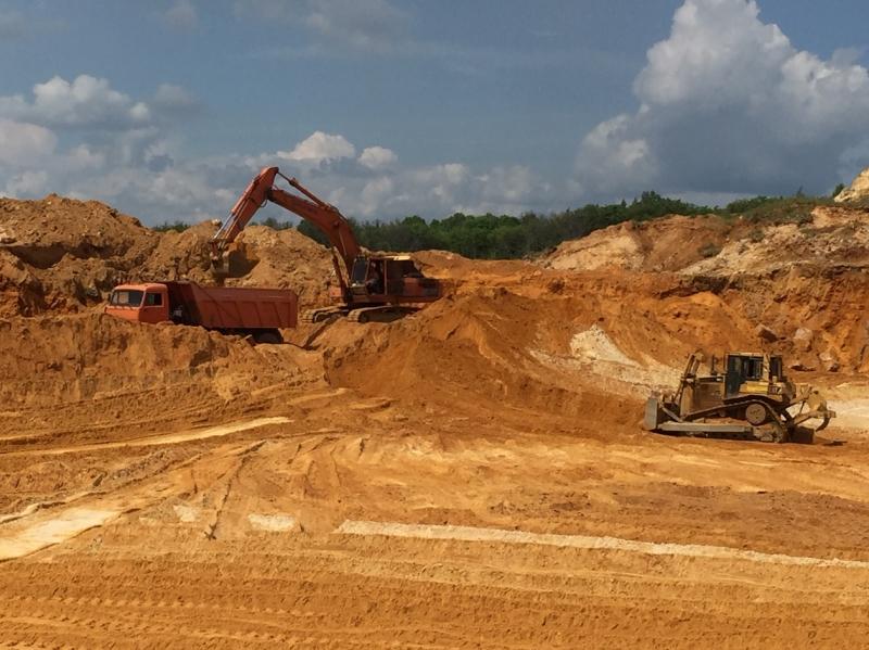 Песок строительный, горный  карьерный, намывной, речной